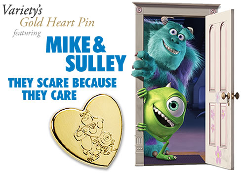 Variety Gold Hearts 2013 - Mike and Sully