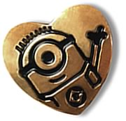 US Variety Gold Heart Pin 2015 - The Minions
