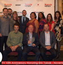 Young Variety's 10th Anniversary Dinner Honoring Eric Tabak