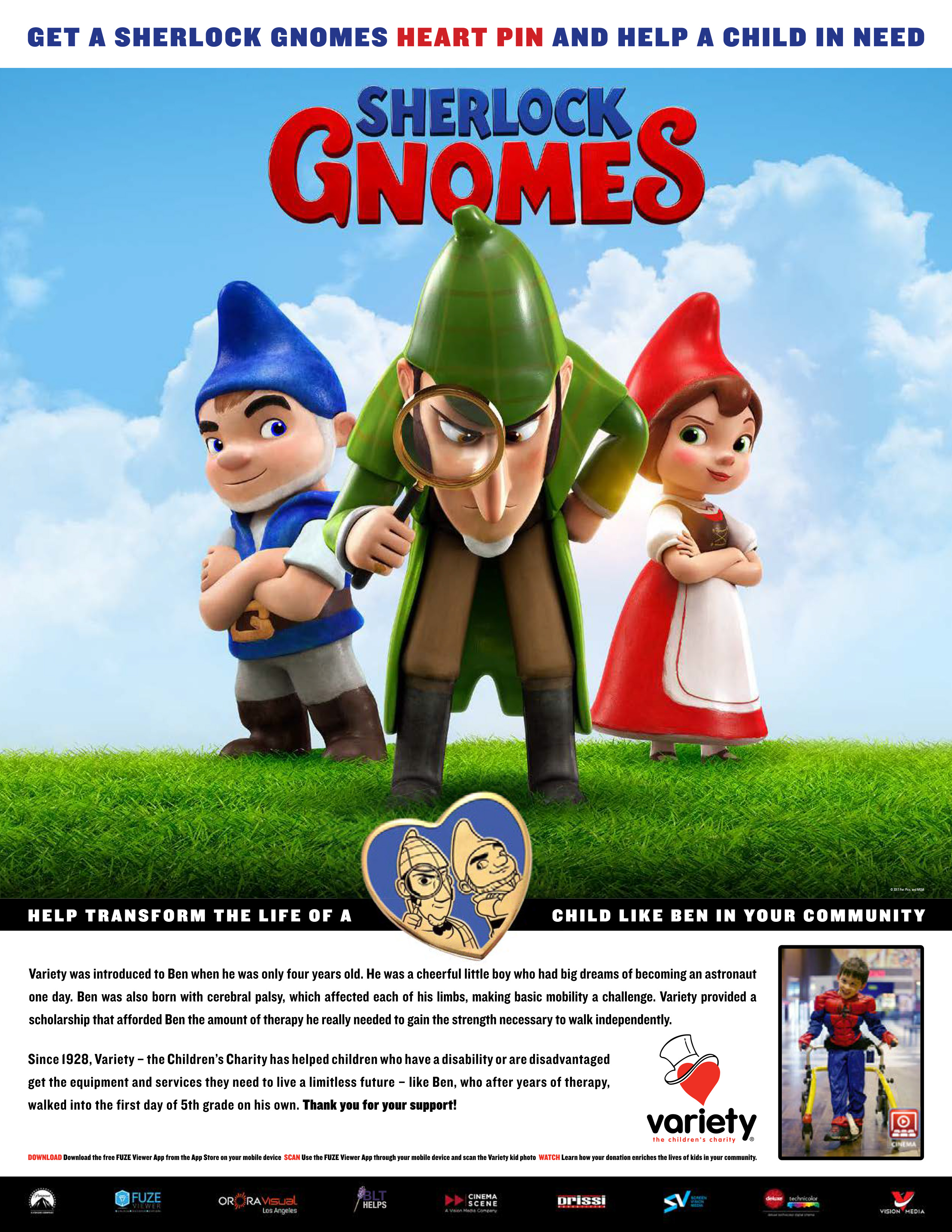Sherlock Gnomes One Sheet